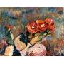 Impresionismo. Flor De Tuna.óleo Julio Ducuron.impresionista