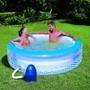 Jacuzzi Inflable Con Burbujas Y Motor Filtro Incluido Nuevo