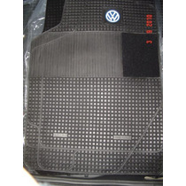 Volkswagen Gol Pisos De Goma Juego De 4 Piezas