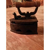 Mini Plancha De Fierro A Carbón De Colección.$19.900