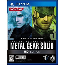 Metal Gear Solid Hd Edition Ps Vita Japonesa