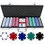 Set Poker Profesional 500 Fichas 11,5gr Maleta Aluminio