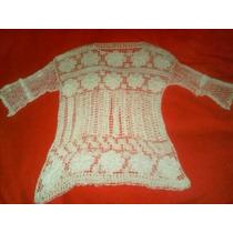 Polera Crochet Tejida A Mano Talla S