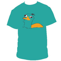 Perry El Ornitorrinco Poleras Estampadas