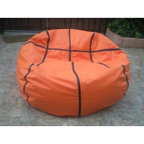 Exclusiva Pelota Basketball Pouf Peras Gigante