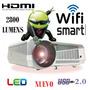 Luxcine Proyector Led Hd Smart Android 2800 Lumenes