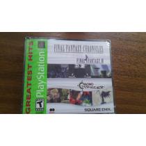 Final Fantasy Chronicles Playstation I Sellado.-