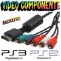 Cable Componente Ps2 Y Ps3 De Alta Definicion