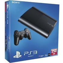 Sony Play Station 3 Ps3 250gb Negro - Smartprogames