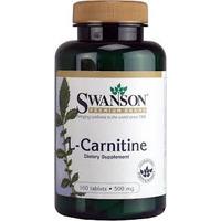 Quemador De Grasas Carnitina Swanson 100 Tabletas Excelente