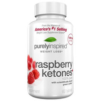 Raspberry Ketones 1200 Mg 60 Caps. Purely Inspired Fitstore