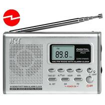 Mini Radio Reloj Digital Irt Fm/am De Bolsillo