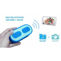 Parlante Bluetooth Selfie Disparador Fotos Android Iphone