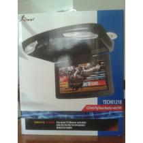 Monitor De Techo 12 Con Reproductor Dvd Para 12 O 24 V