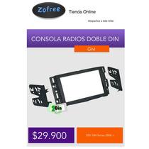 Consola Para Radios Doble Din Gm Series Desde 2006