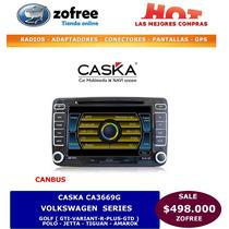 Radio Multimedia Caska Ca3669 Para Volkswagen Series