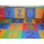 Puzzle Goma Eva 31x31 Abecedario Completo Y Numeros