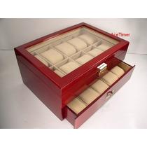 Regale Fina Caja Para Guardar/coleccionar 20 Relojes