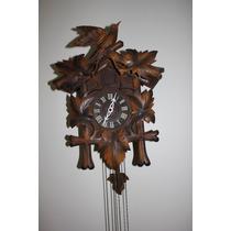 Espectacular Reloj Cucu Alemán De La Selva Negra Funcionando