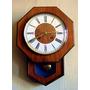 Reloj Dependulo Coleccion Funcionando Westerstrans Campanas