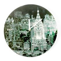 Reloj Mural Pared Morph Diseño Nueva York