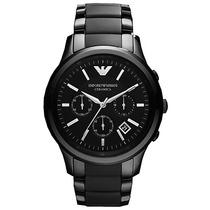 Reloj De Hombre Emporio Armani Cerámica Elegancia Exclusivo
