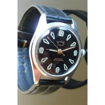 Reloj Mecanico A Cuerda Services Ingles Vintage Años 60.