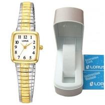 Reloj Lorus By Seiko Nuevo Con Caja Y Manual De Mujer