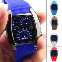 Reloj Diseño Marcador De Velocidad Y Tacómetro.