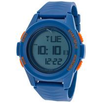 Reloj Puma Blue Silicone Digital Dial - Hombre