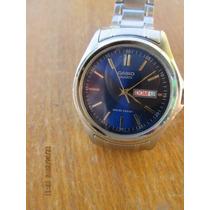 Reloj Casio Varon Modelo Mtp 1239 Como Nuevo Esfera Azul