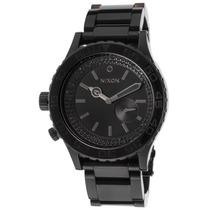 Reloj Nixon 42-20 Tide Black Ip Stainless Steel Black Dial -