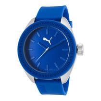 Reloj Puma Blue Silicone And Dial - Hombre