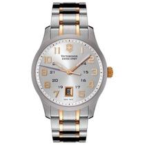 Reloj Luxury Victorinox Swiss Army Alliance Silver Dial Two