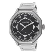 Reloj Nixon Falcon Silver-tone Stainless Steel Black Dial -