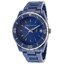 Reloj Kenneth Jay Lane Es 3000 Ceramic Series Blue Ceramic