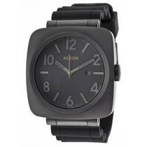 Reloj Nixon Volta Solar Black Polyurethane Grey Dial -