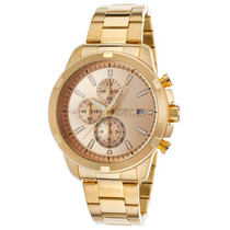 Reloj Invicta Specialty Chrono 18k Gold Plated Stainless