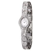 Reloj Suizo Dama Wittnauer Cristal De Zafiro Y Swarovski