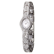 Reloj Suizo Wittnauer Cristal Swarovski Correa Pequeña