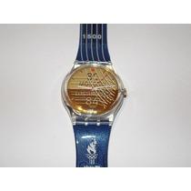 Unico Reloj Swatch Varon Sebastian Coe, Coleccionable