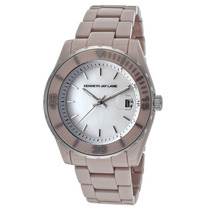 Reloj Kenneth Jay Lane Es 3000 Ceramic Series Earl Grey