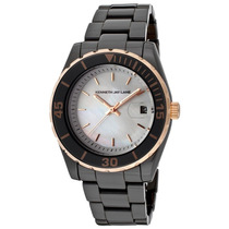 Reloj Kenneth Jay Lane Es 3000 Ceramic Series Black Ceramic