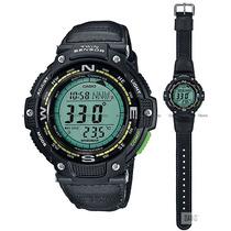 Reloj Casio Outgear, Sgw100b-3a2, Brújula, Termómetro