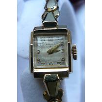 Reloj En Oro Solido Banner Omega Suizo A Cuerda De 1960