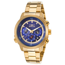 Reloj Invicta Specialty Chrono 18k Gold-plated Stainless