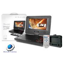 Dvd Con Tv Microlab, Portátil, Giratorio De 7, Sd / Usb/mp3