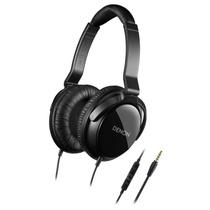 Audífonos Denon Ah-d310r Con Control Remoto Y Micrófono