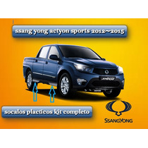 Ssangyong Actyon Sports Socalos Plasticos 2012-2015