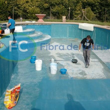 Revestimientos de piscinas con fibra de vidrio estaci n - Vidrio para piscinas ...